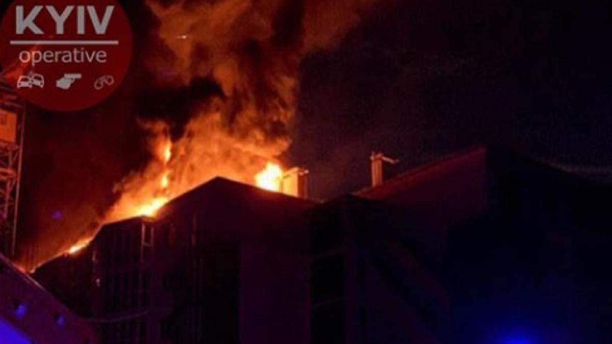 Пожежа у житловому будинку в Києві 21 липня 2020: фото, відео
