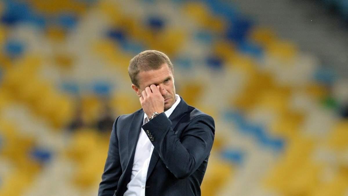 """Скрипник і Ребров не очолять """"Динамо"""""""