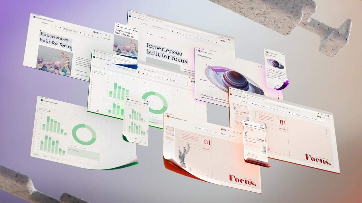 Microsoft показала новый интерфейс Office для всех устройств