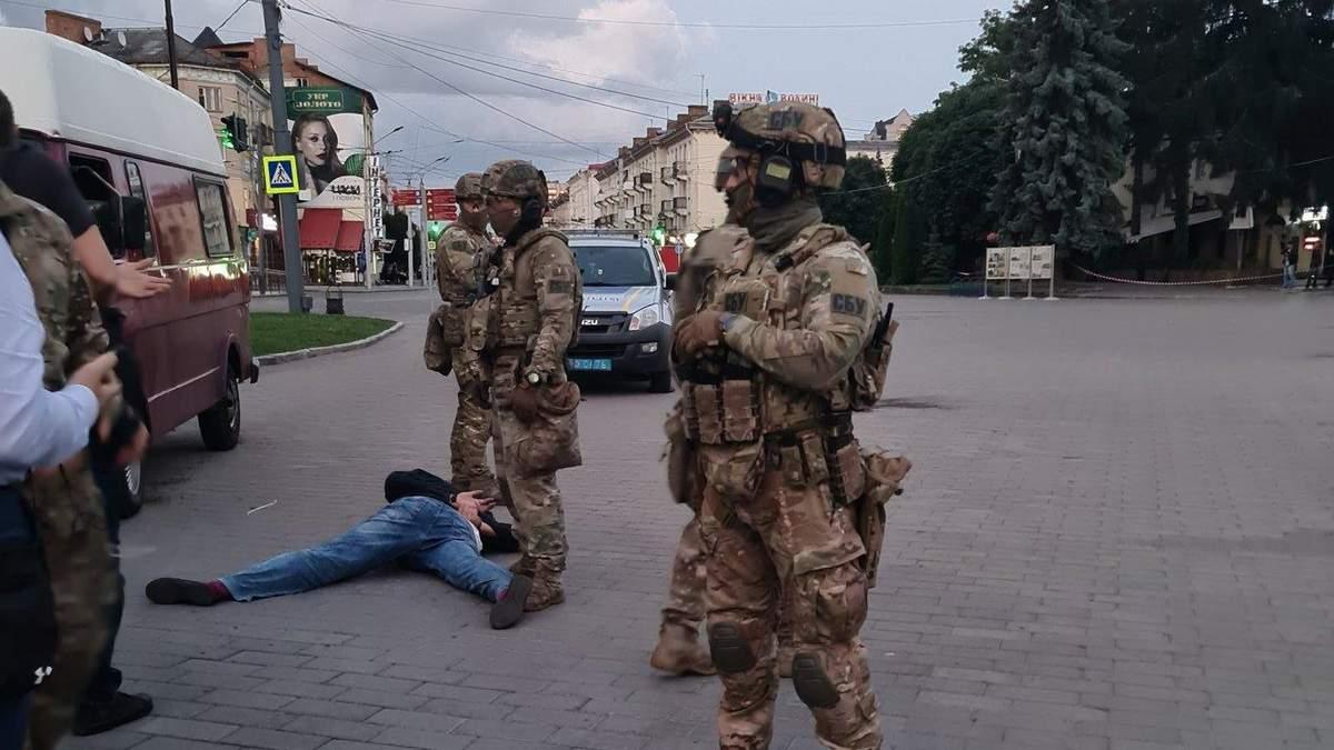 Затримання терориста у Луцьку: чому БТР приїхало після затримання