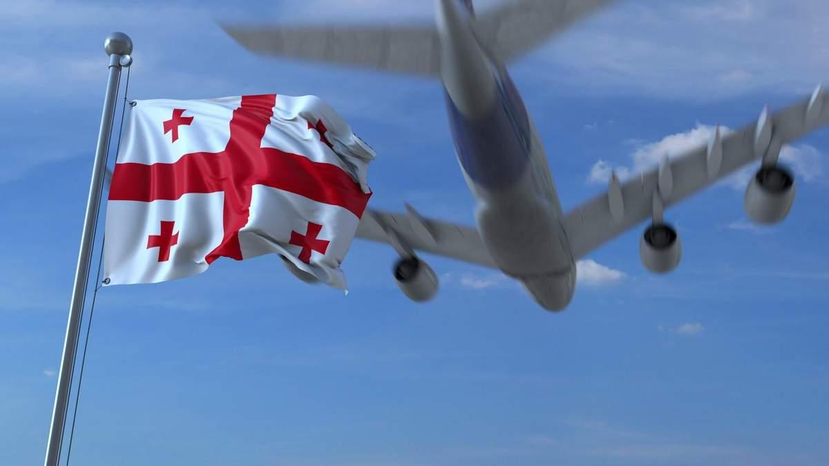 Заборона на міжнародні авіарейси в Грузію до 31.08.2020