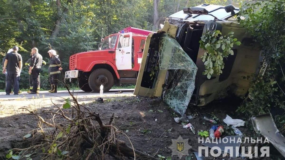 ДТП в Винницкой области возле села Лукашевка 23.07.2020: жертвы, фото