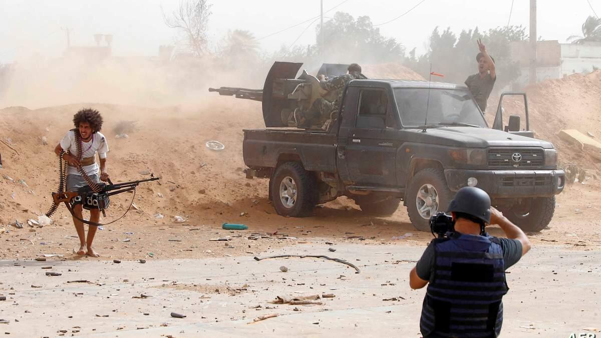 Бойові дії у Лівії