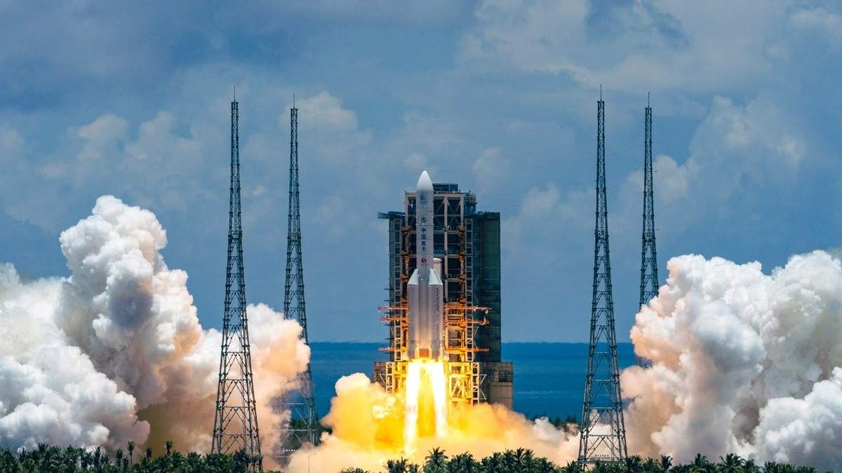 Тяньвень-1 – китайская Миссия на Марс: детали и видео
