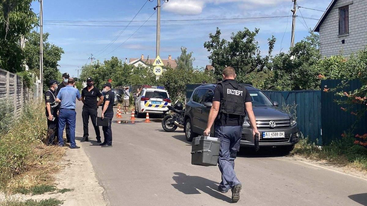 Підпал будинку Шабуніна: поліція заперечує, що знайшли вибухівку