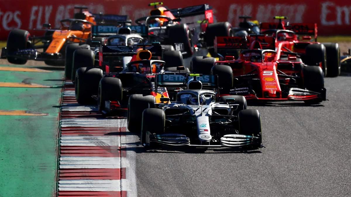 Формула-1 перносить етапи з північної та Південної Америки