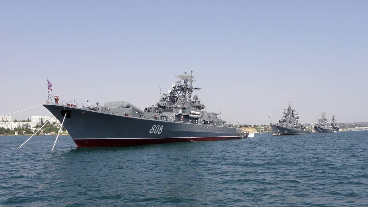 Ракетні кораблі і можливість ядерного удару: як змінився Чорноморський флот РФ у Криму