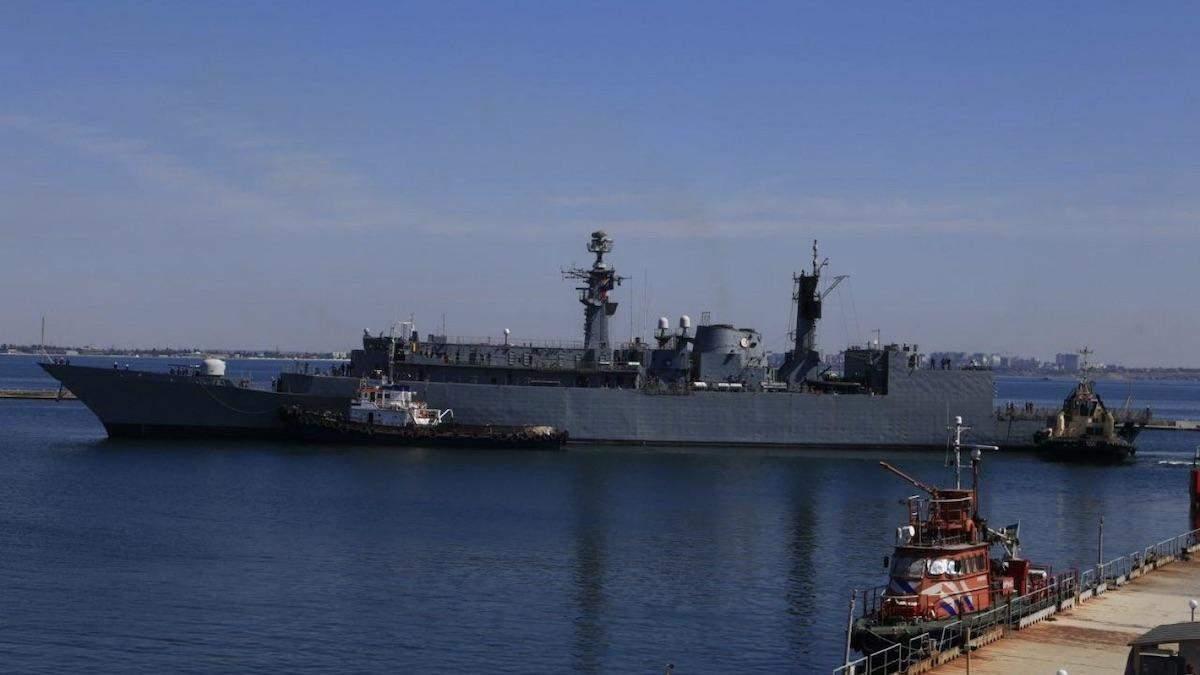 Кораблі НАТО в Чорному морі в Одесі 25 липня 2020: фото