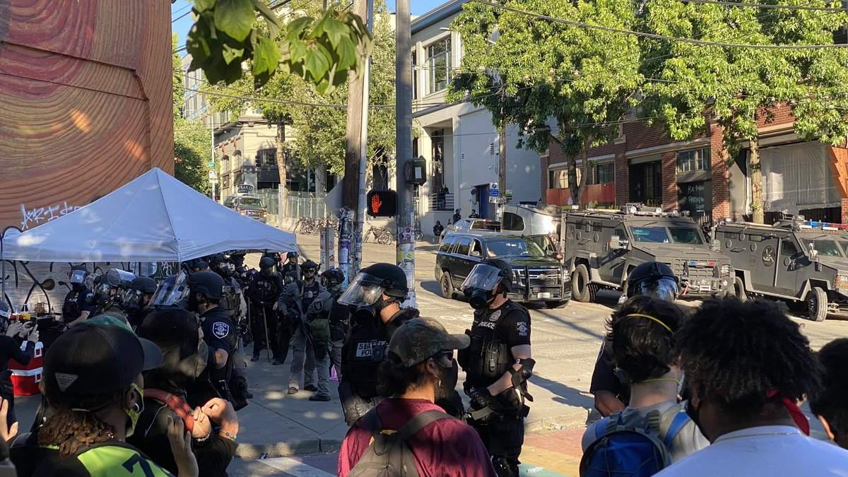 Протести у США: у Сіетлі зіткнення, багато затриманих - відео, фото