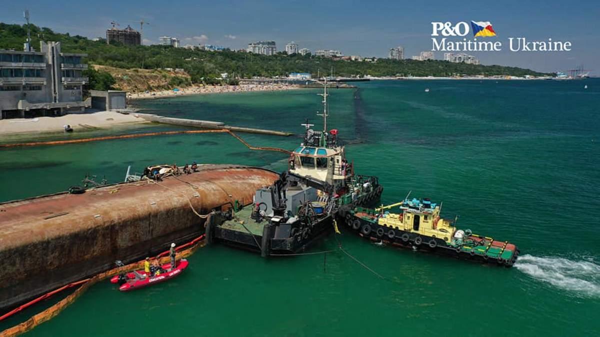 Операцію з підняття судна планують відновити 27 липня