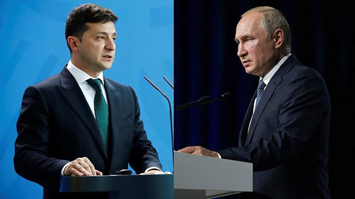 Зеленський і Путін поговорили 26 липня 2020: про що розмова