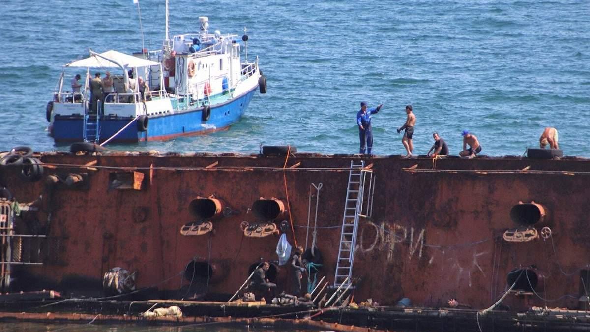 Чрезвычайная ситуация в Одессе 26.07.2020 из-за танкера Delfi