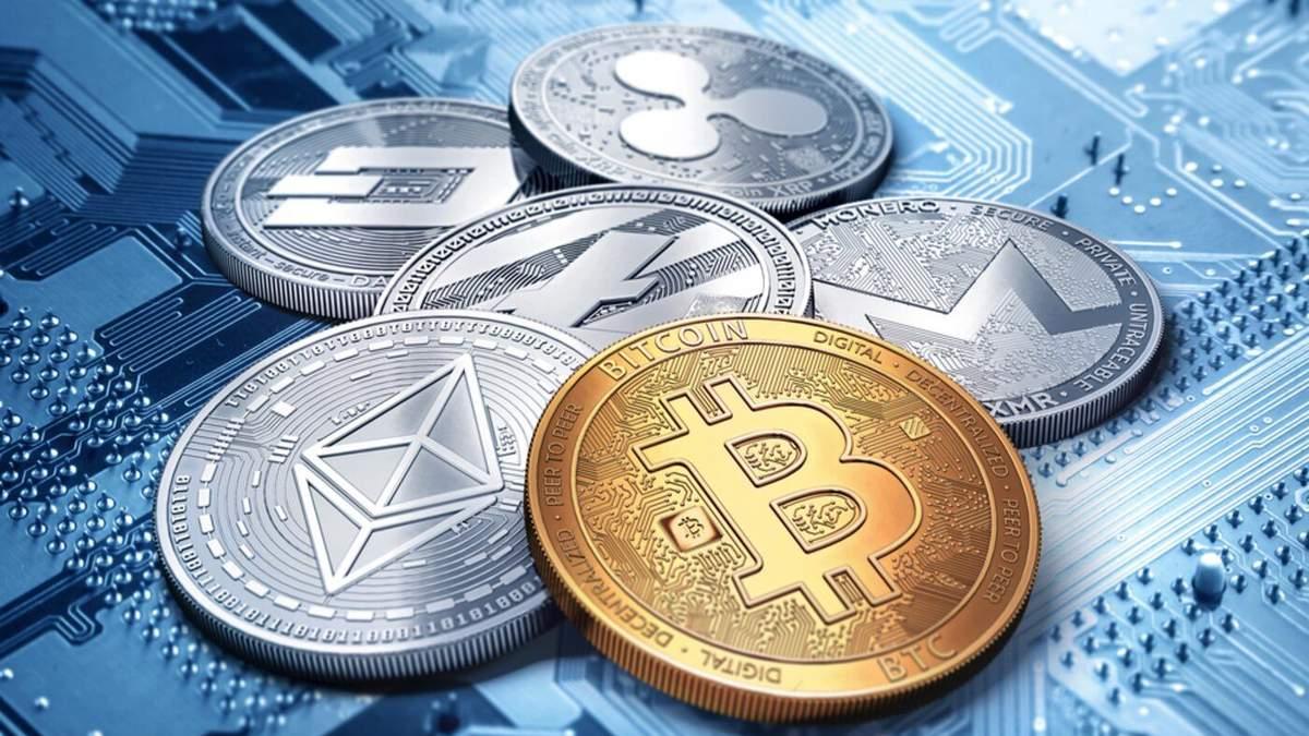 Криптовалюти подорожчали: курс біткойна, Ethereum та XRP