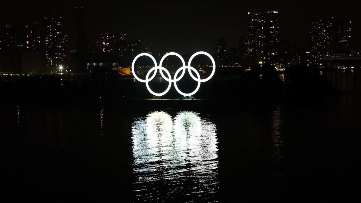 Перший малюнок олімпійських кілець продали на аукціоні