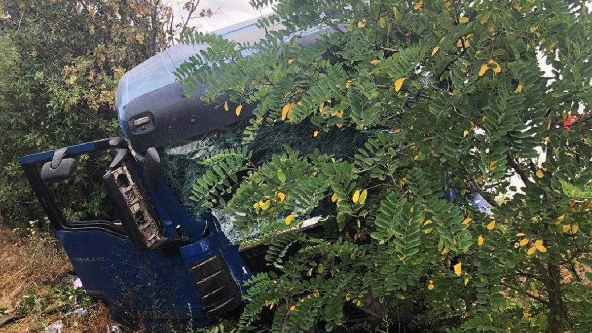 ДТП возле Новой Одессы 27.07.2020: фото смертельной аварии