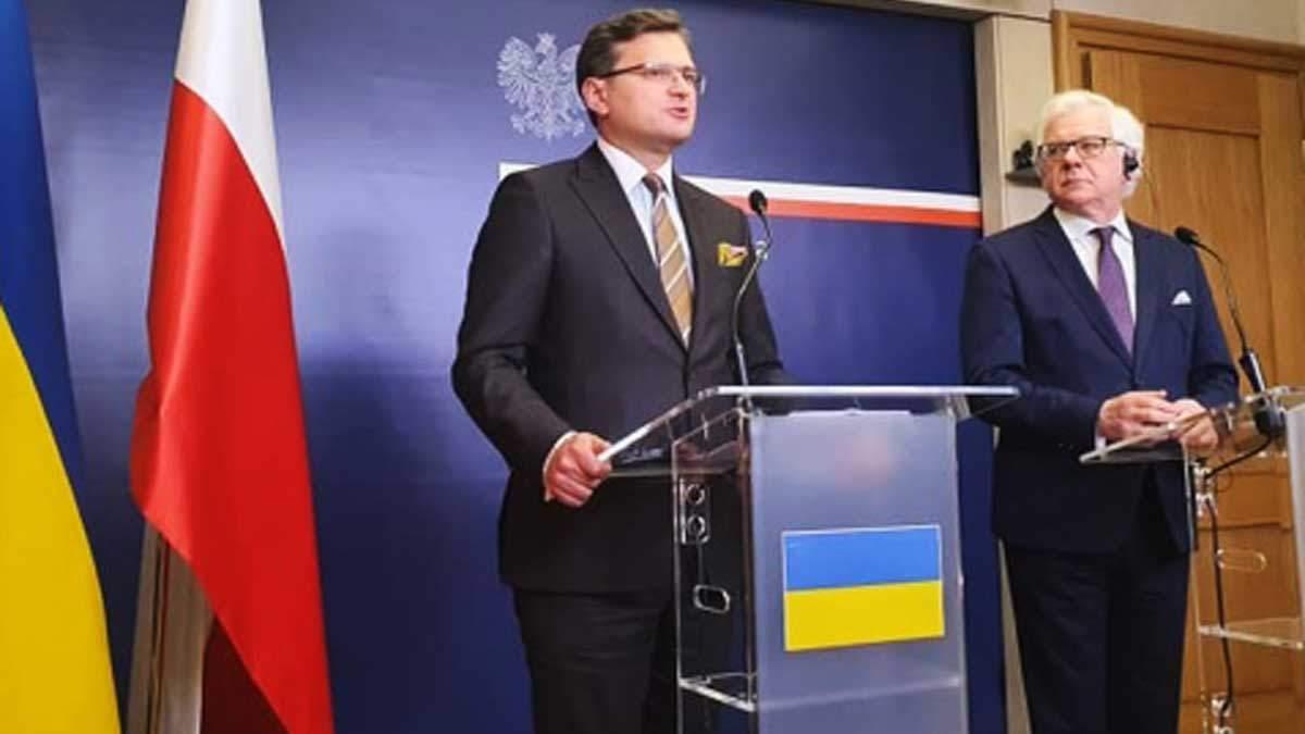 Кулеба встретился в Варшаве с Чапутовичем