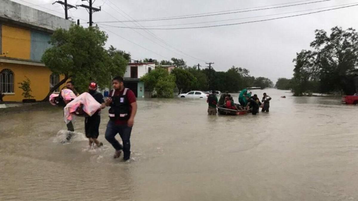 Ураган Ханна в Мексике: есть погибшие и пропавшие - фото, видео