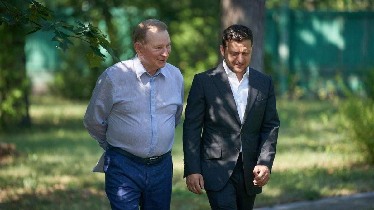 Леонид Кучма вышел из ТКГ по Донбассу 28 июля 2020
