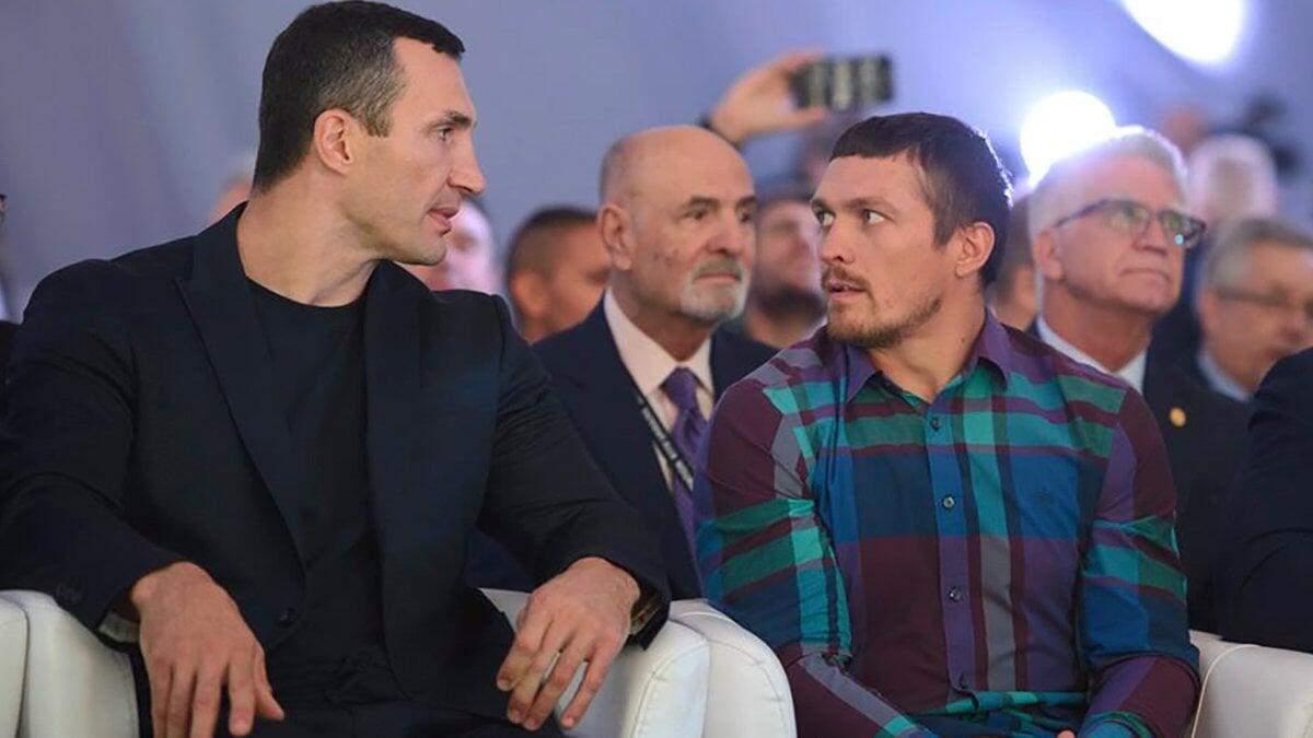 Володимир Кличко та Олександр Усик