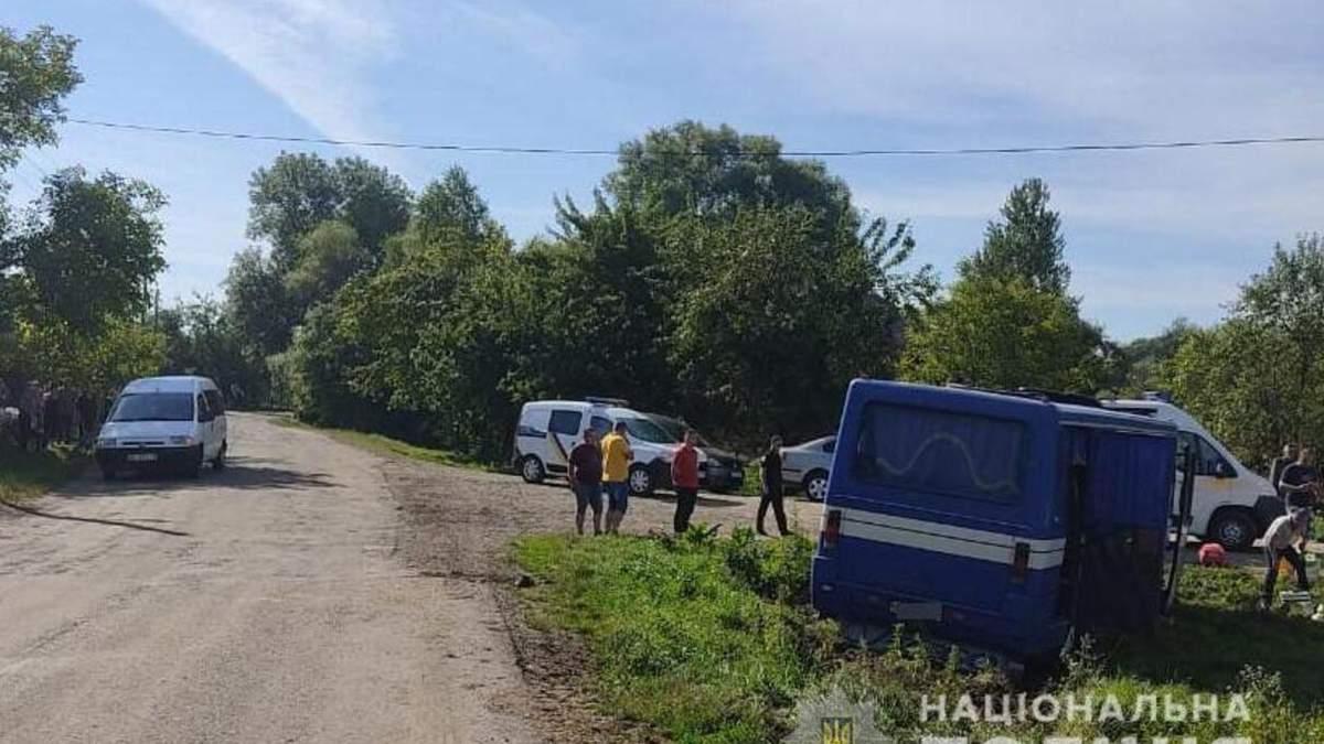 У Львівській області ДТП з автобусом 28 липня 2020 - фото