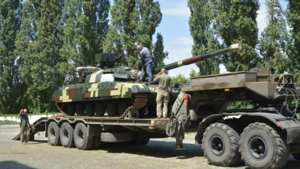 У Харкові модернізували два танки