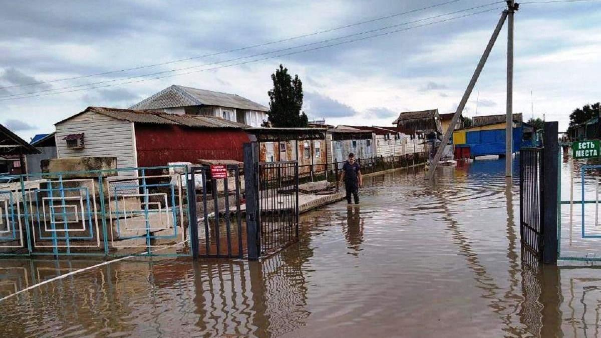 Зливи в Кирилівці: наслідки негоди станом на 28.07.2020 – фото