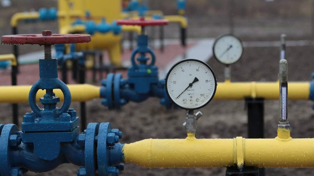 Украина закачала рекордное количество газа в подземные хранилища