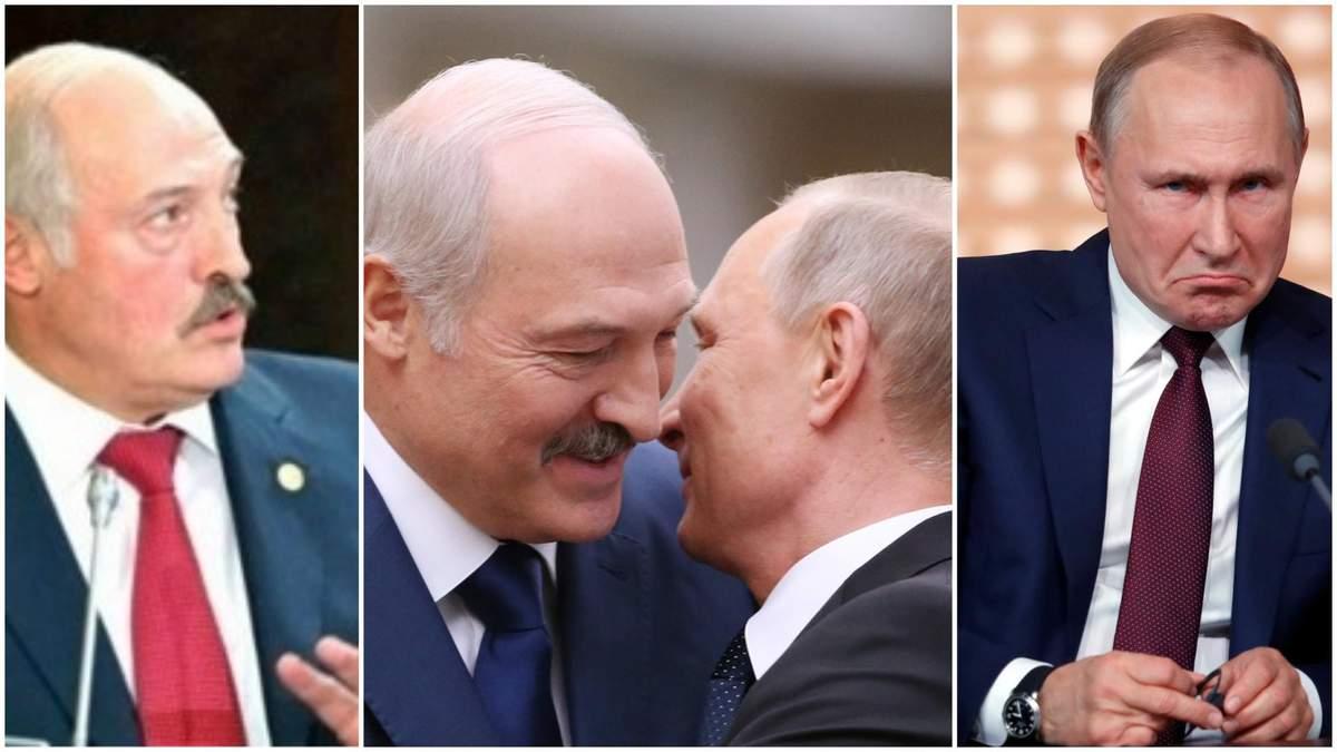 У Лукашенко был коронавирус, а Путин то и не знал