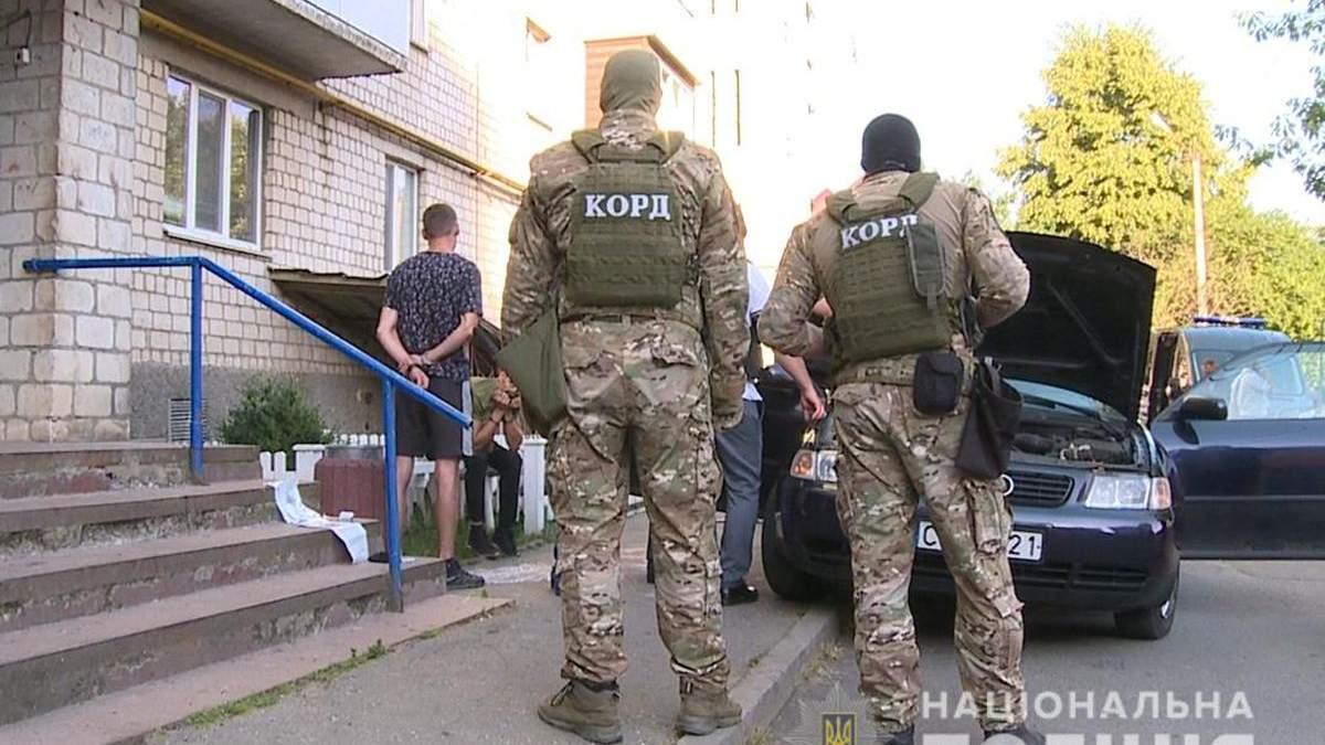 Полиция задержала группу, которая взрывала банкоматы по всей Украине: видео спецоперации