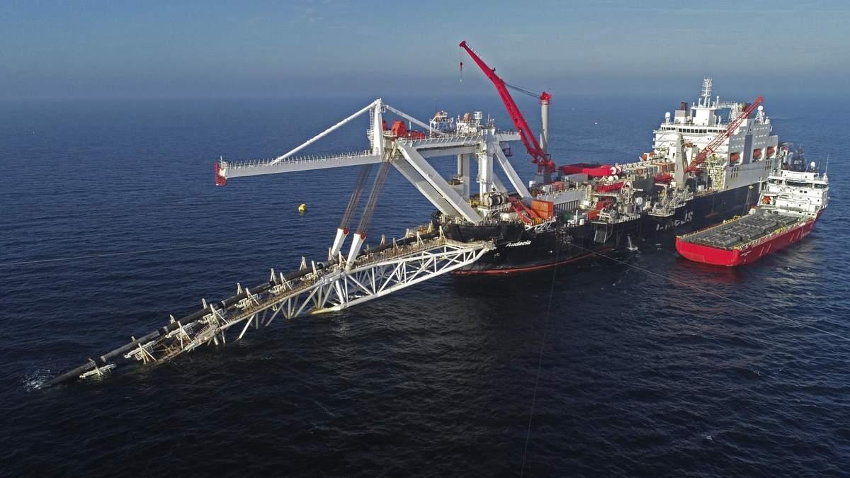 """Российский """"Газпром"""" перестал владеть судном, которое способно достроить """"Северный поток-2"""""""
