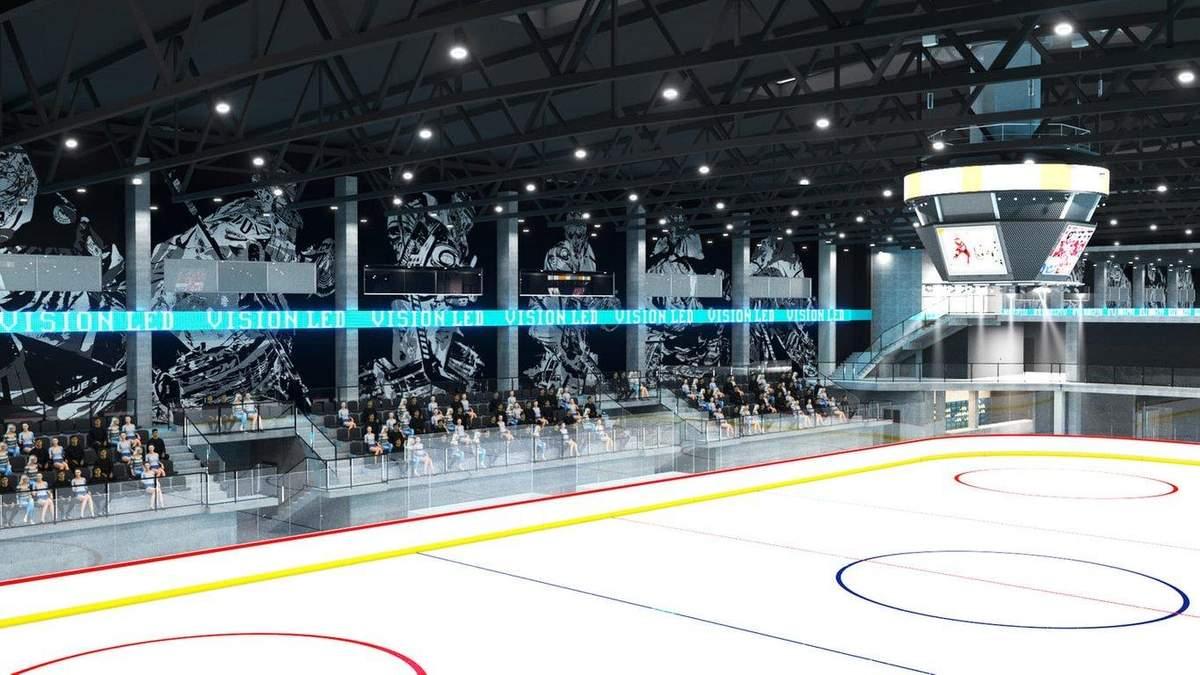 Проект ледовой арены во Львове