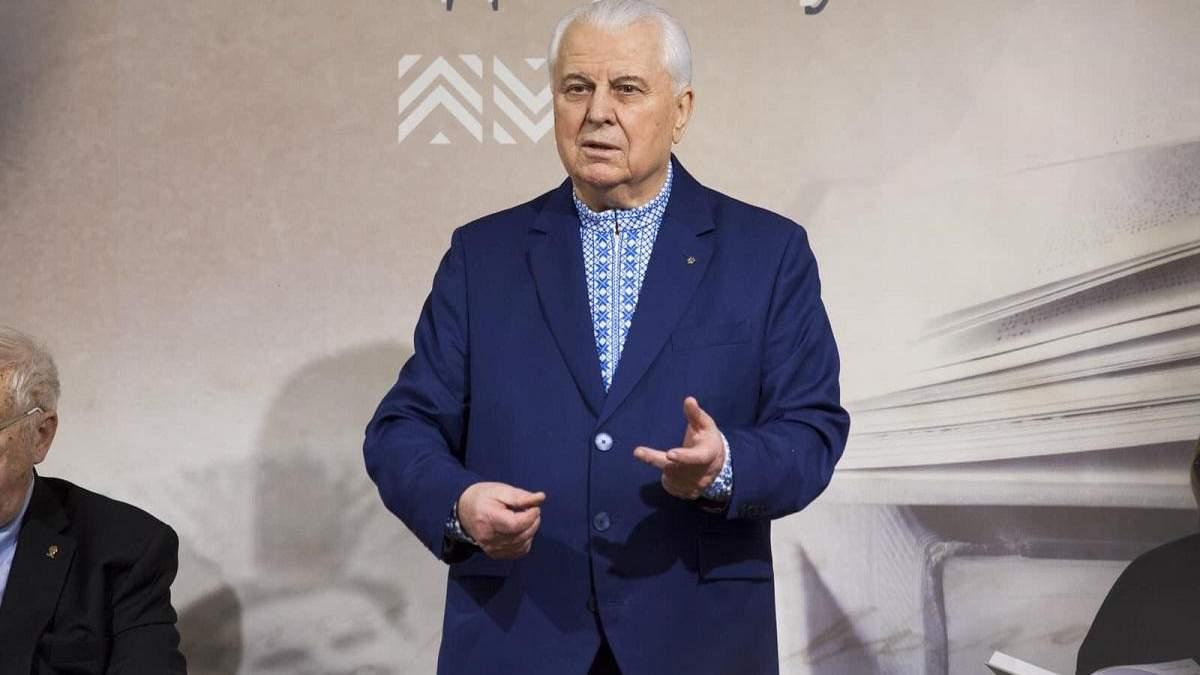 Кравчук может возглавить ТКГ в Минске: реакция первого президента Украины