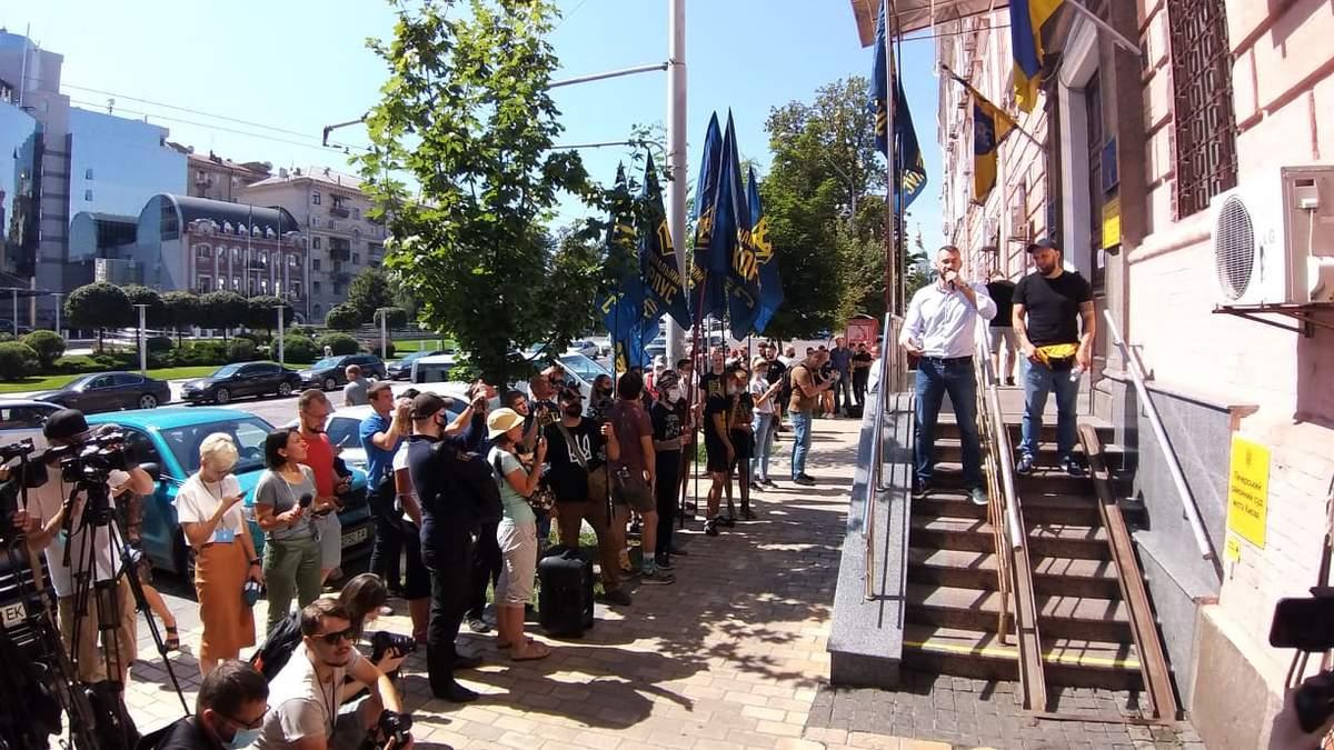 Дело Сивохи против Нацкорпусу: суд перенес слушания, фото
