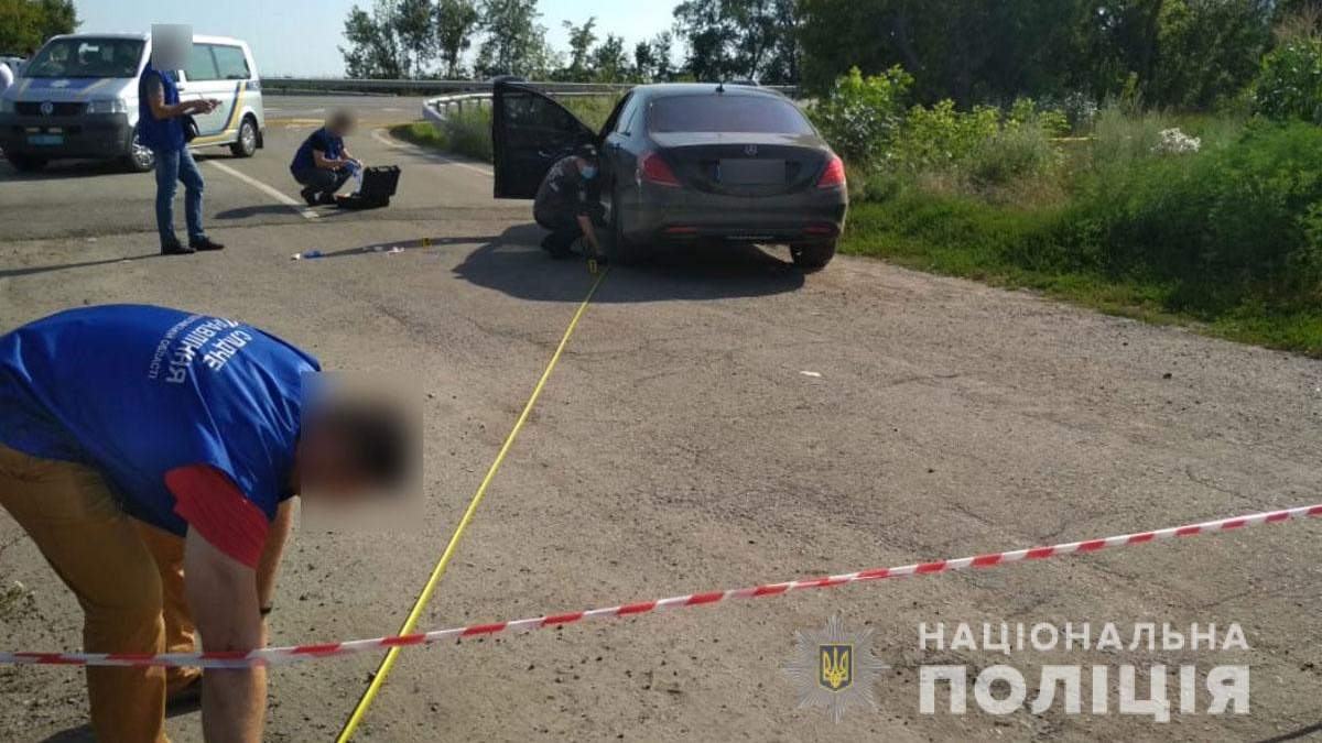 Убитий Олександр Мазур: його Mercedes розстріляли під Пирятином