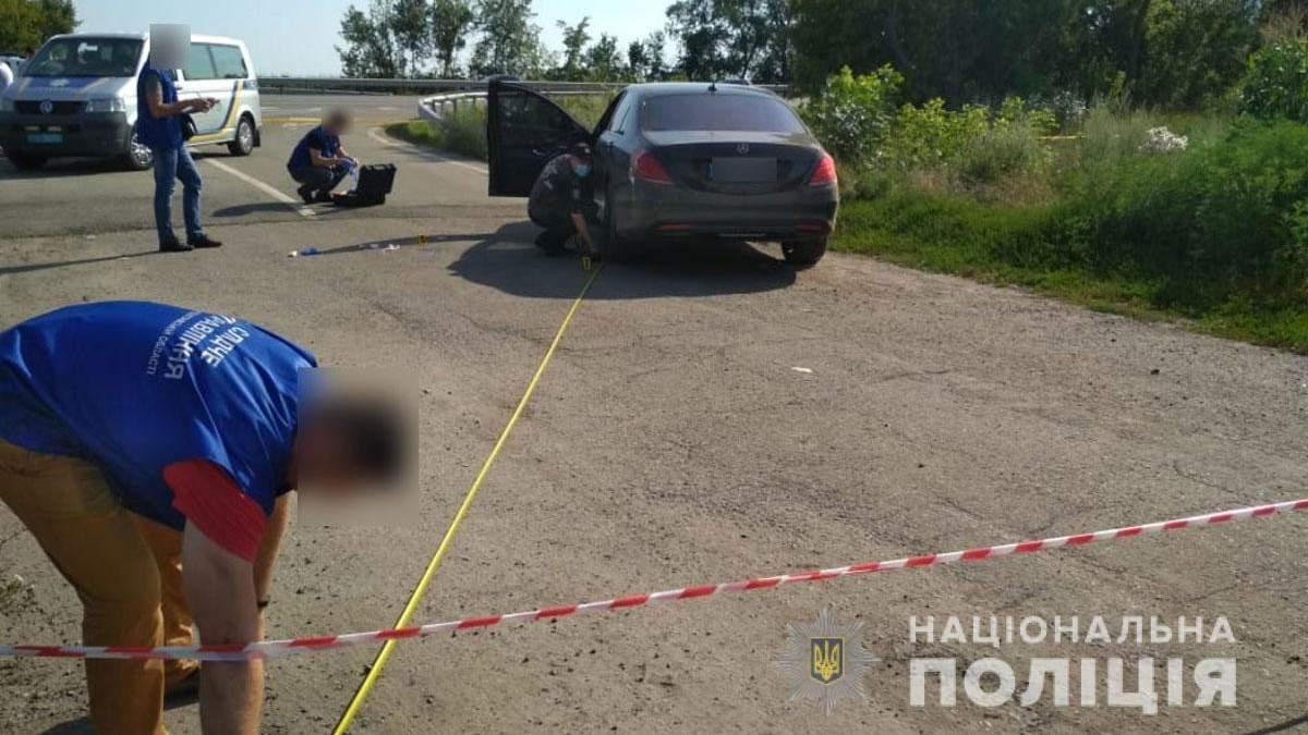Убит Александр Мазур: его Mercedes расстреляли под Пирятином