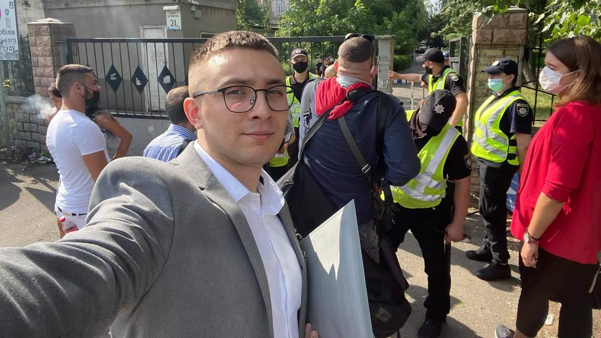 В Шевченковском райсуде Киева снова отказали в рассмотрении апелляции на меру пресечения Стерненко