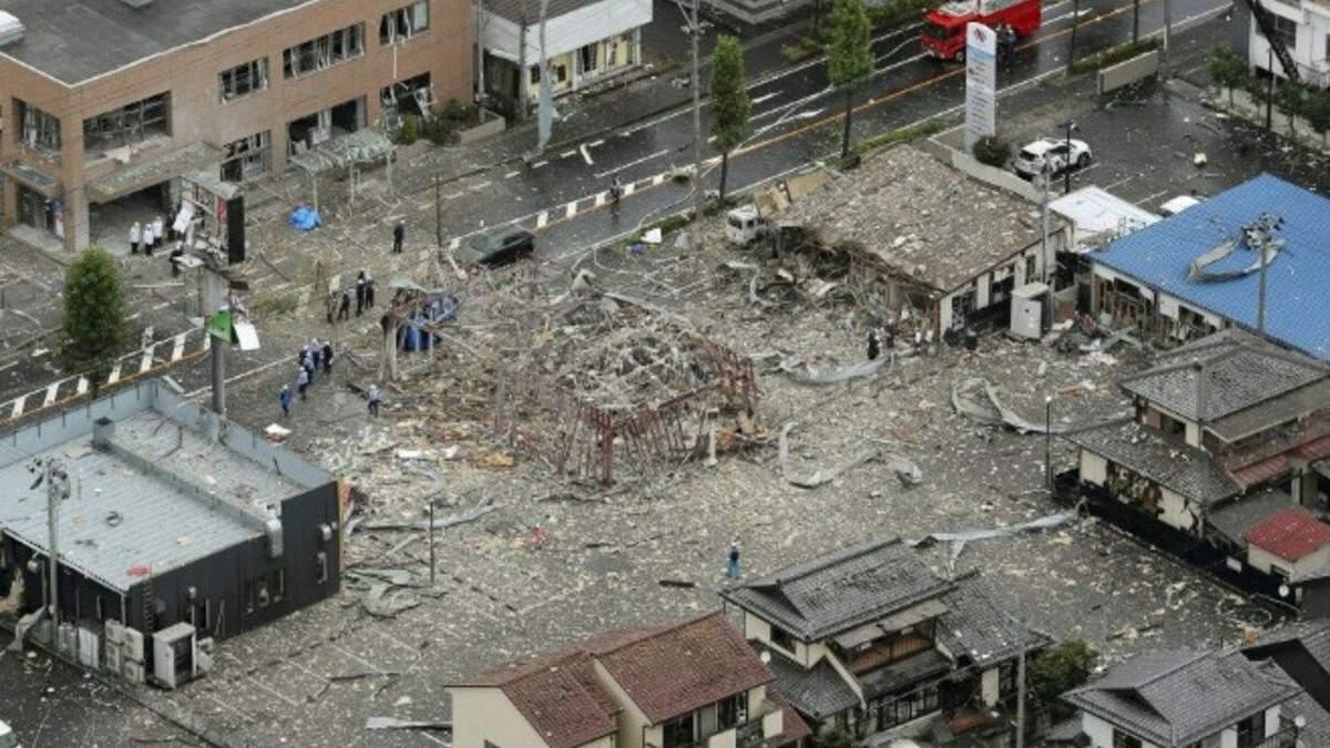 Взрыв ресторана в Японии 30 июля 2020: детали, фото