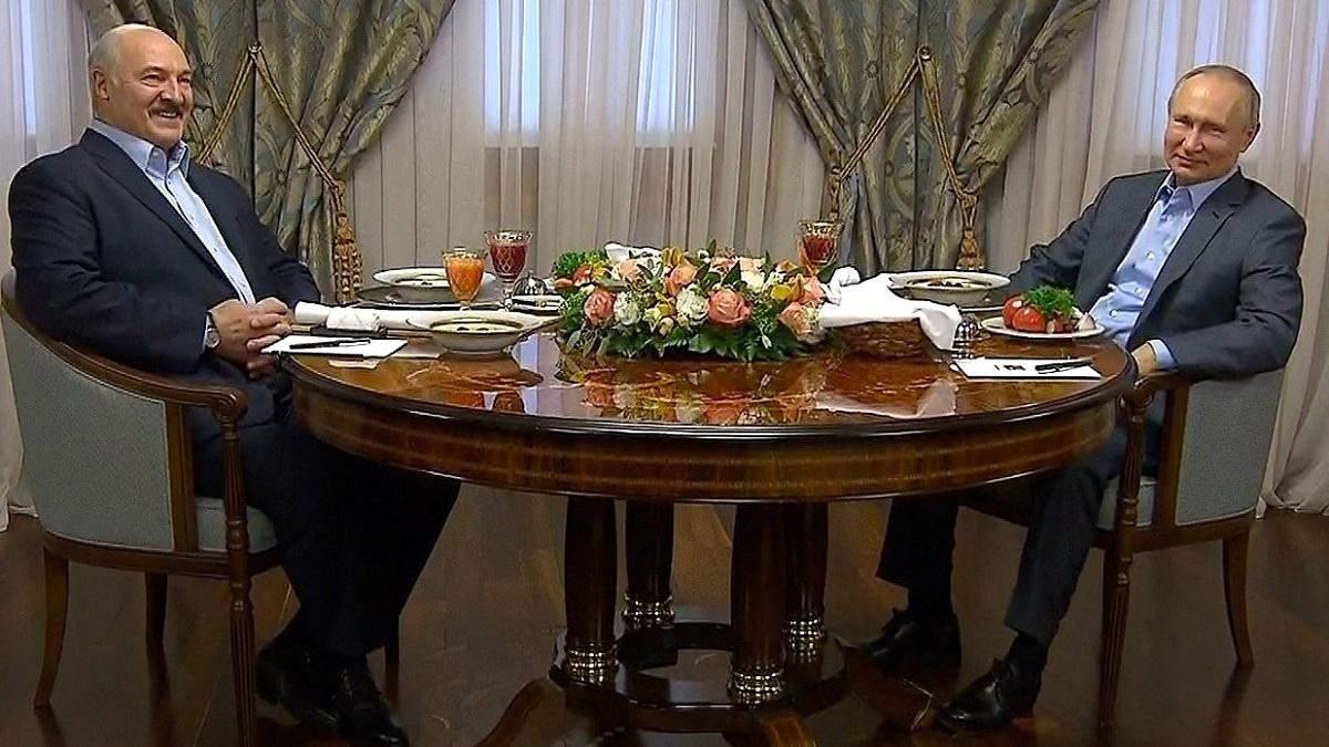 У Лукашенка і Путіна дуже напружені стосунки
