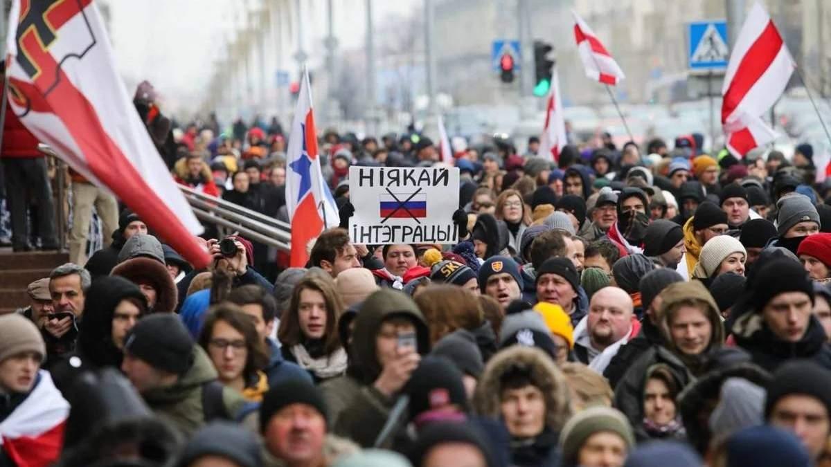 МВД Беларуси считает, что протесты в стране организовали в соцсетях из-за границы