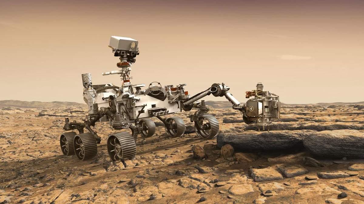 Марсохід Perseverance – місія Mars 2020: відео запуску