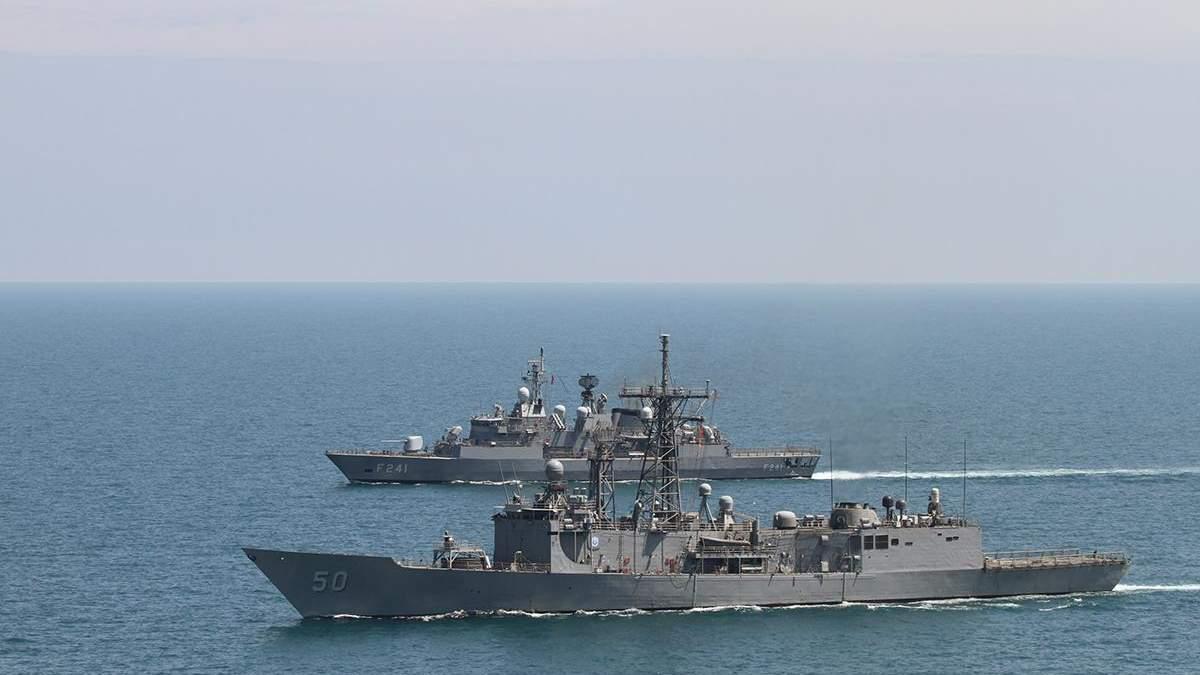 Россия наращивает силы в Черном море