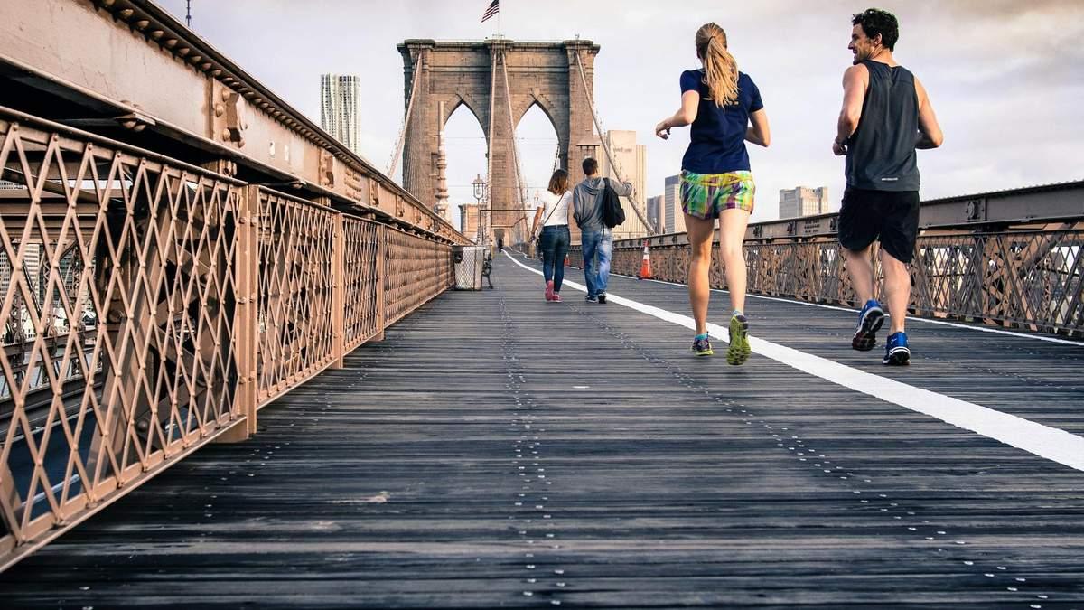 Как бегают мужчины и женщины