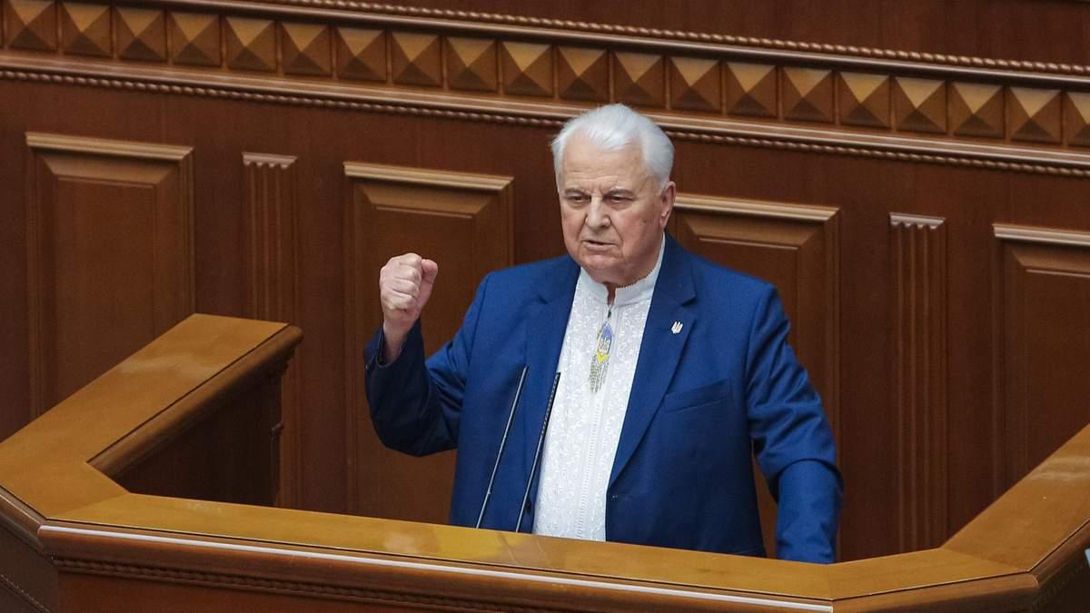 Кравчук о войне в Донбассе и Крым: цитаты и мысли