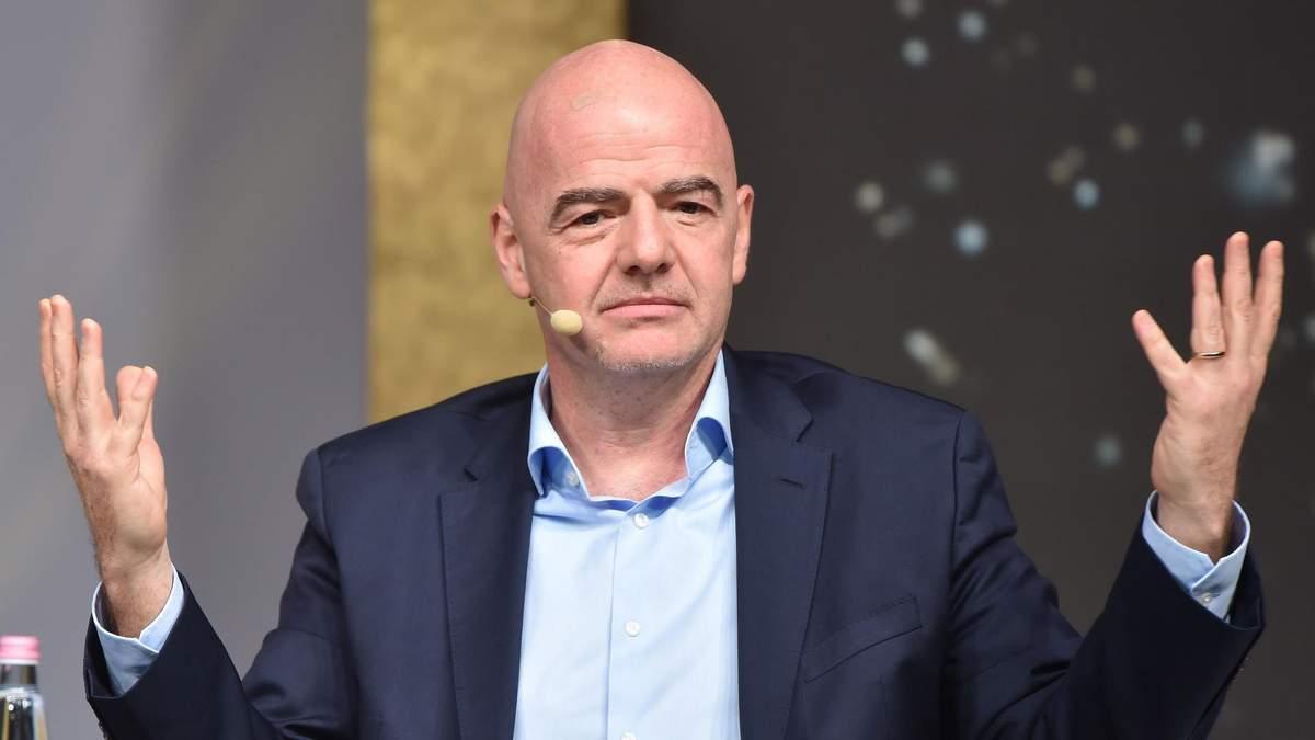 Против президента ФИФА Джанни Инфантино возбуждено уголовное дело