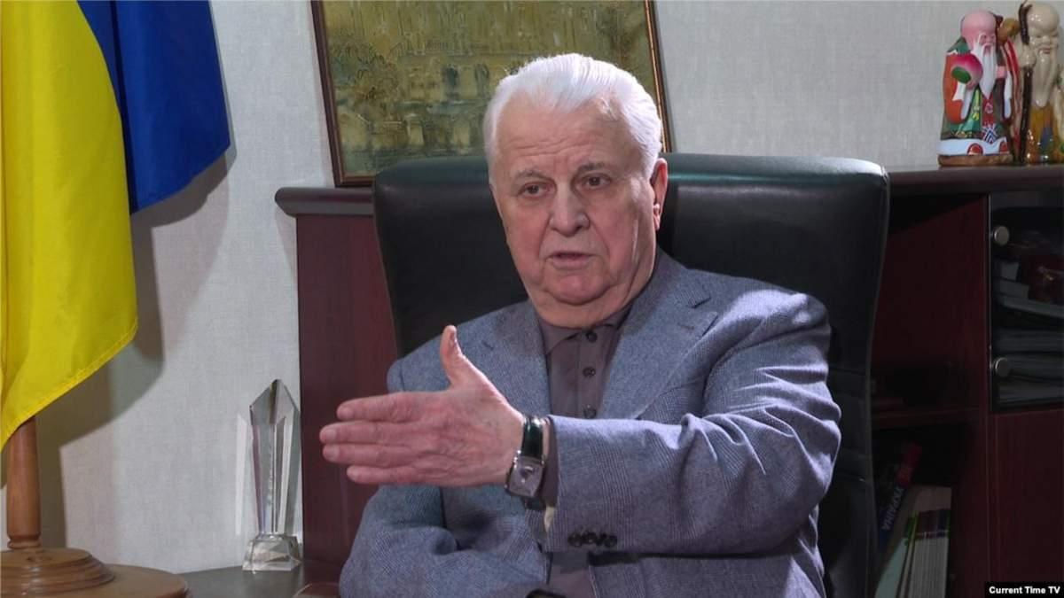 Кравчук розповів про перші компроміси на Донбасі