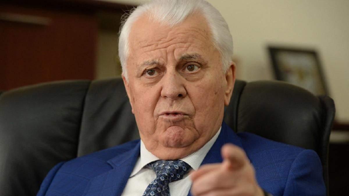 Леонид Кравчук возглавил делегацию Украины в ТКГ