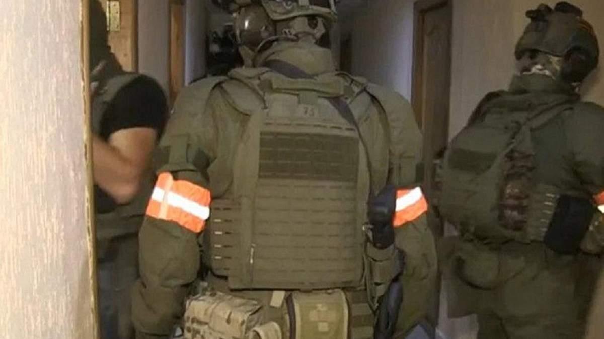 Білоруські  силовики затримують вагнерівців