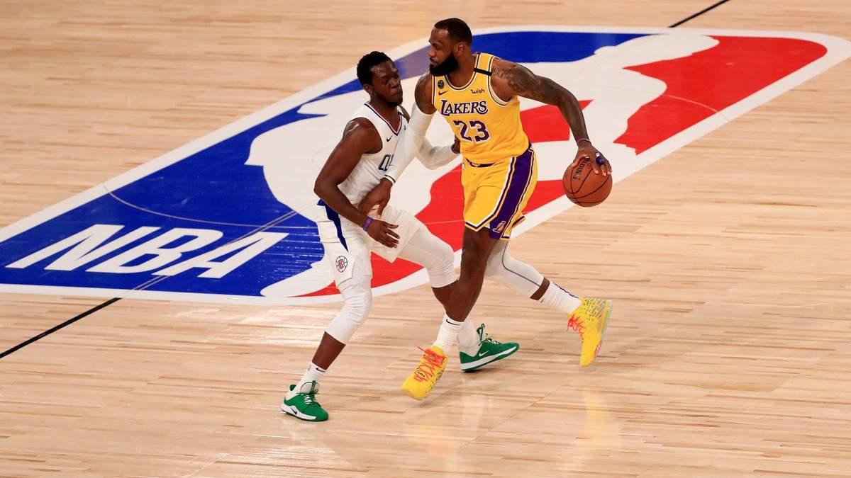 Лейкерс - Клипперс: результат, обзор и видео матча НБА 30 июля