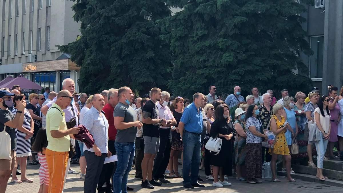 Протест медиків у Смілі