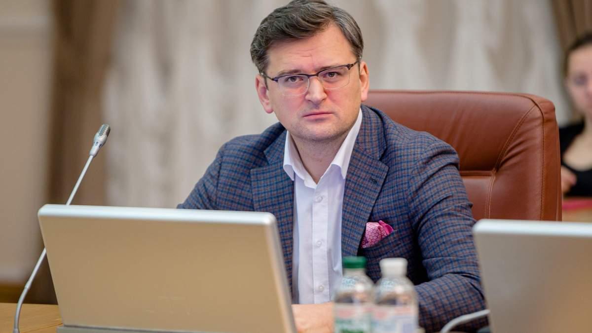 Все в руках России, – Кулеба о будущем нормандской встречи